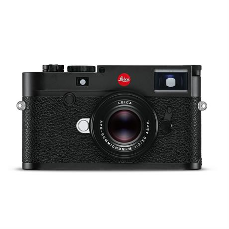 Leica M10-R Digital Rangefinder Camera Black Chrome Image 1