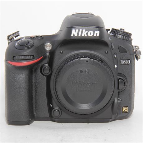 Used Nikon D610 + 24-85mm f3.5-4.5G Kit Image 1
