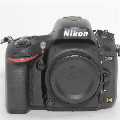 Used Nikon D610 Body Boxed Image 1