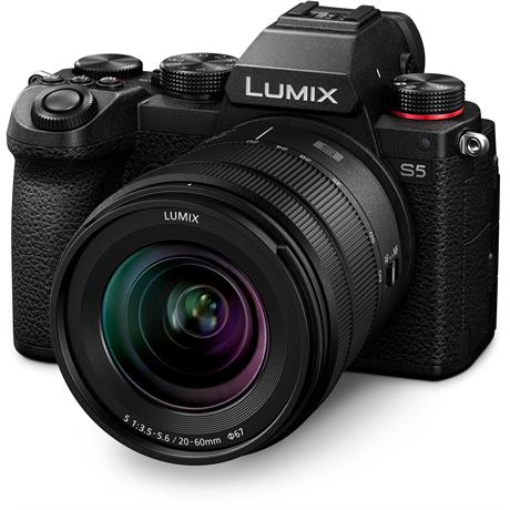 Panasonic Lumix S5 Full-Frame Camera With S 20-60mm f/3.5-5.6 Lens Kit Image 1