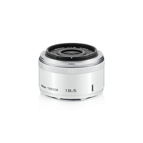 Nikon 1 NIKKOR 18.5mm f/1.8 White Image 1