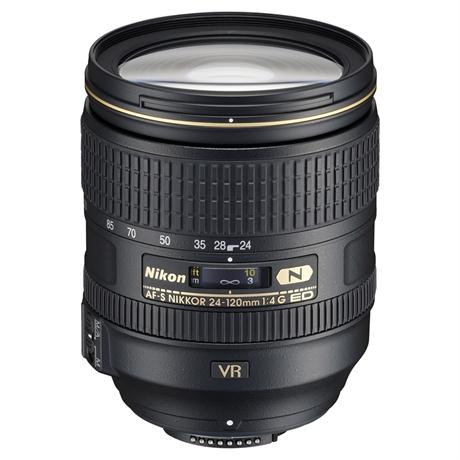 Nikon AF-S Nikkor 24-120mm f/4G ED VR Zoom Lens Image 1