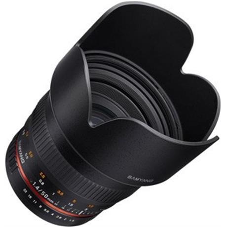 Samyang 50mm F1.4 Lens - Sony E Image 1
