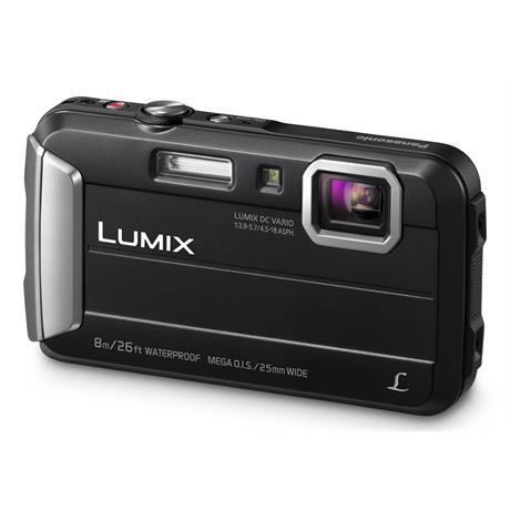 Panasonic Lumix FT30 Black Waterproof Tough Camera Image 1
