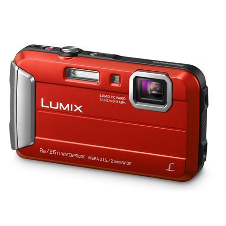 Panasonic Lumix FT30 Red Waterproof Tough Camera Image 1