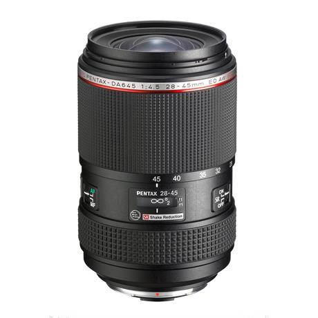 HD Pentax-DA 645 28-45mm f/4.5 ED AW SR Medium Format Zoom Lens Image 1