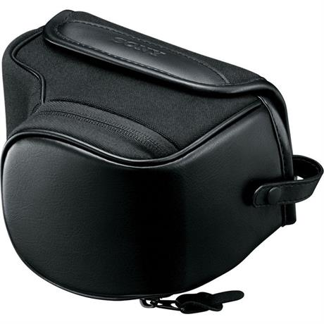 Sony LCS EMJB Soft leather-look carrying case for A5000/6000 Image 1