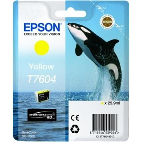 Epson Whale T7604 Yellow Image 1