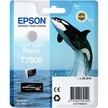 Epson Whale T7609 Light Light Black Image 1