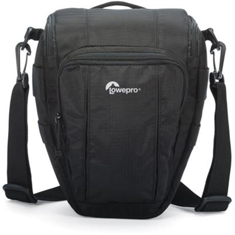 lowepro toploader zoom 50aw II black camera shoulder bag