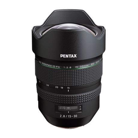 Pentax 15-30mm f/2.8 HD FA ED SDM WR Side Angle