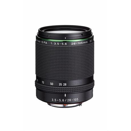 Pentax 28-105mm f/3.5-5.6 HD FA ED DC WR Side Angle