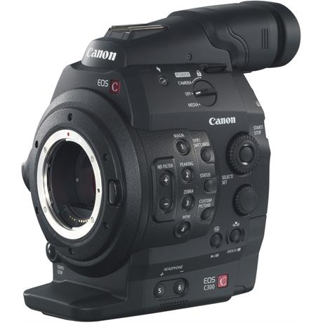 EOS C300 Front Angle