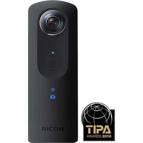 Ricoh Theta S 360 Camera - Black Image 1