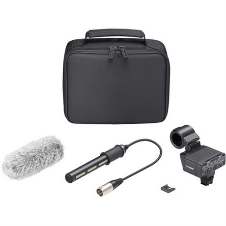 Sony XLR-K2M Adapter Kit and Microphone Image 1