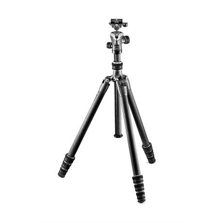 Gitzo Traveler Series 1 4-Section Carbon Fibre Tripod and Ball Head Kit Image 1
