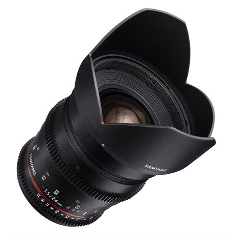 Samyang 24mm T1.5 VDSLR II Lens - Canon Fit Image 1