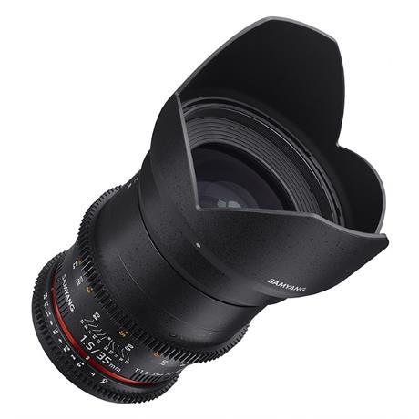 Samyang 35mm T1.5 VDSLR II Lens - Canon Fit Image 1