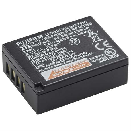 Fujifilm NP-W126S Lithium-ion Rechargeable Battery Image 1