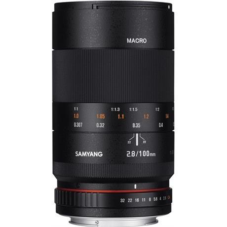 Samyang 100mm Macro F2.8 - Nikon Fit Image 1
