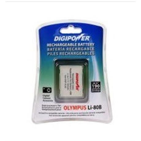 DigiPower Li-Ion OLYMPUS LI-80B Image 1