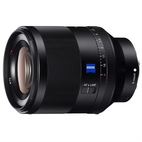 Sony Full-Frame FE 50mm F1.4 ZA Prime Lens Front side