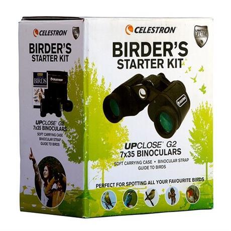 Celestron UpClose G2 7x35 Porro Prism Birder Kit Image 1