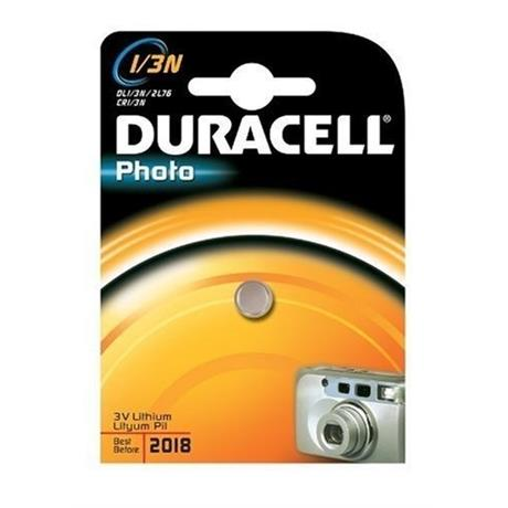 Duracell DL1/3N Lithium Battery Image 1