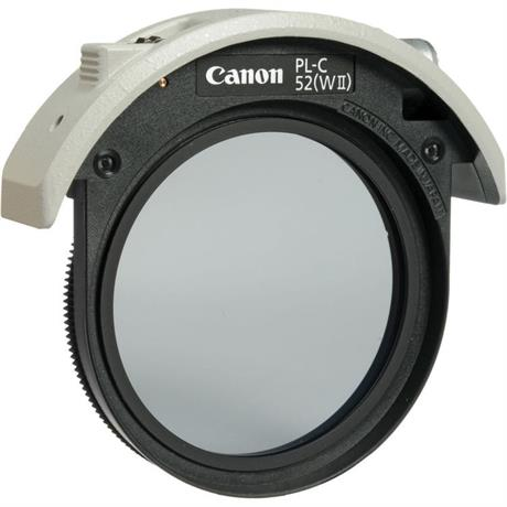 Canon 52mm Drop in PL-C Filter II Image 1