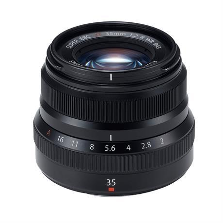 Fujifilm XF 35mm f2 R WR Standard Prime Lens - Black Image 1