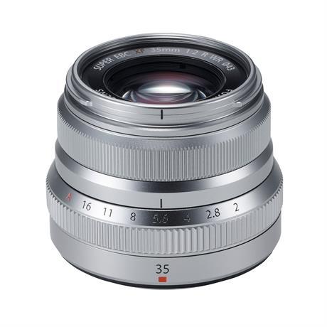 Fujifilm XF 35mm f2 R WR Standard Prime Lens - Silver Image 1
