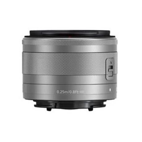 Canon EF-M 15-45mm f/3.5-6.3 IS STM Lens - Silver Image 1
