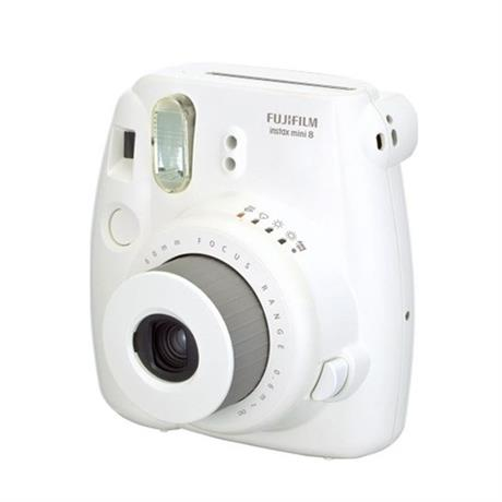 Fujifilm Instax Mini 8 White + 10 Shots Image 1