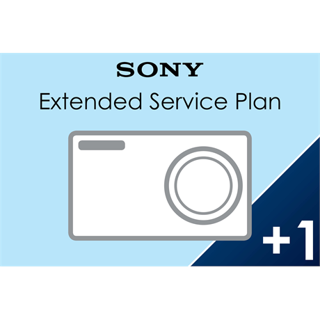 Sony (1+1) Extended Warranty for Cameras Image 1