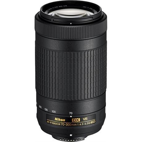 Nikon AF-P DX Nikkor 70-300mm f/4.5-6.3G ED VR Super Telephoto Lens Image 1