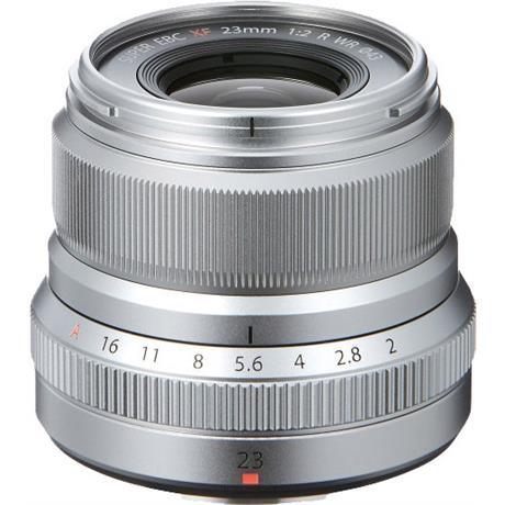 Fujifilm 23mm f2 R WR XF Wide Angle Prime Lens - Silver Image 1