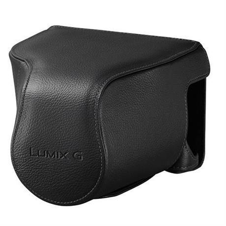 Panasonic DMW-CGK34E-K Black Leather Case for GX8 Image 1