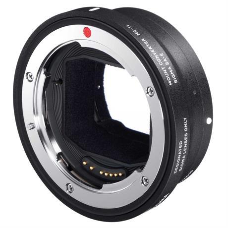 Sigma Mount Converter MC-11 - Sony E -  Canon EF Lens Image 1