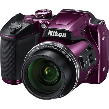 Nikon Coolpix B500 Plum Front Angle