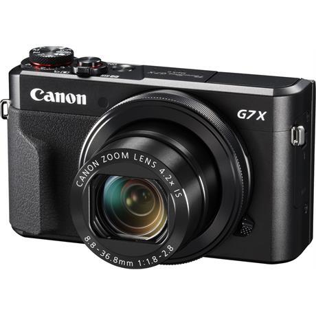 Canon PowerShot G7X II Front Angle