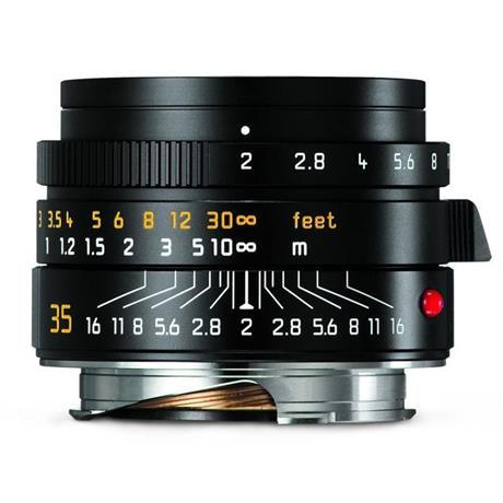 Leica Summicron-M 35mm f/2 ASPH Lens - Black Image 1