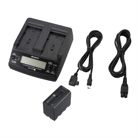 Sony ACC-L1BP Dual Camcorder Battery Charger & Battery Image 1