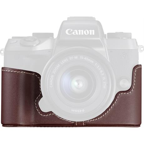 Canon EH29-CJ Brown Body Jacket for the EOS M5 Image 1