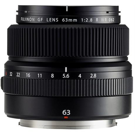Fujifilm GF 63mm f2.8 R WR Medium Format Prime Lens Image 1