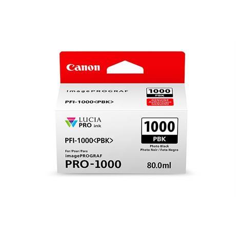 Canon PFI-1000 Photo Black Ink Cartridge Image 1