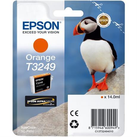 Epson Puffin T3249 Orange Ink Cartridge for Epson SC-P400 Image 1