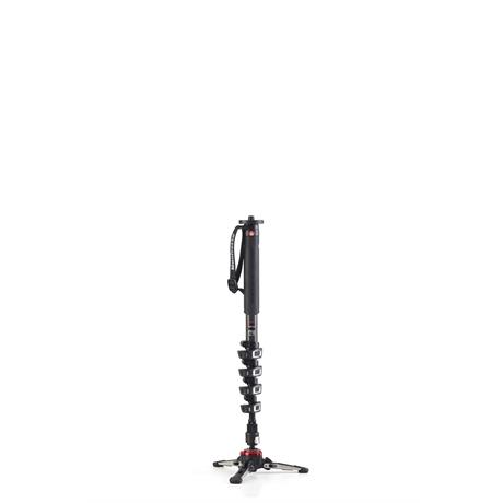 Manfrotto XPRO 5 Section Carbon Fibre Video Monopod Image 1