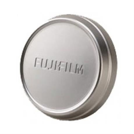 Fujifilm Lens Cap for X100/X100S/T Cameras - Silver Image 1