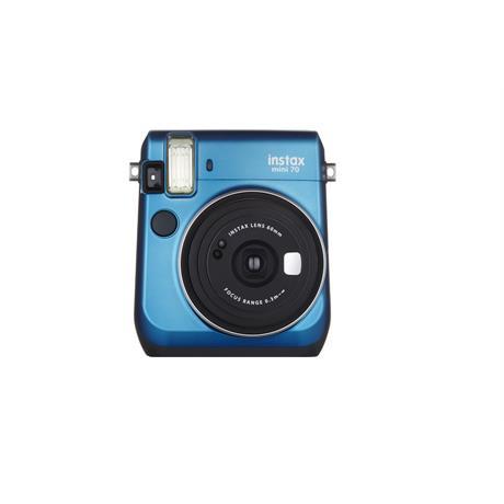 Fujifilm Instax Mini 70 Blue Instant Camera + 10 Shots Image 1