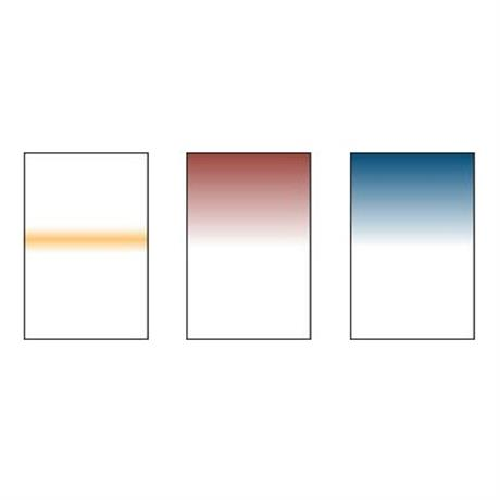 Includes Coral Stripe Pale, Mahogany 3 and Twilight filters